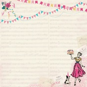 Party One Paper - Authentique
