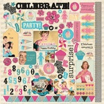 Party Details Sticker Sheet - Authentique