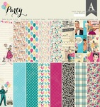Party 12 x 12 Paper Pad - Authentique