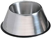 Stainless Steel - Pet Nautic Non-Skid Non-Tip Small Dog Bowl