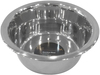 Stainless Steel - Pet Nautic Standard Feeding Dog Bowl 1pt The stainless steel dog food bowl will not rust, crack or show scratches. It is hygienic, stays clean and sanitary for your pet. This package contains one 1pt dog bowl. Dishwasher safe. Imported.