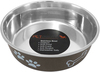Expresso - Pet Nautic Fusion Plastic/Stainless Steel Bowl 16oz The stainless steel dog food bowl will not rust, crack or show scratches. The outside is cover with a plastic coating in a selection of colors to match your home decor. This package contains one 16oz dog bowl. Dishwasher safe. Comes in a variety of colors. Each sold separately. Imported.