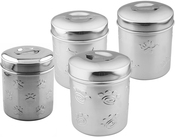 Pet Nautic Stainless Steel Treat Jar 10oz