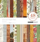 "Australiana - Kaisercraft Paper Pad 12""X12"" 48/Pkg"
