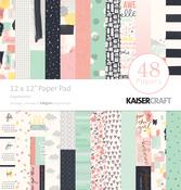 """Daydreamer - Kaisercraft Paper Pad 12""""X12"""" 48/Pkg"""