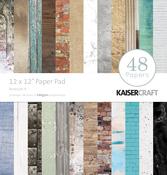 "Basecoat - Kaisercraft Paper Pad 12""X12"" 48/Pkg"
