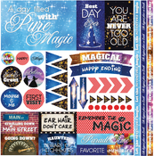 """Real Magic Elements Stickers 12""""X12"""""""