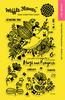 """Enveloper Sending Hugs - Waffle Flower Crafts Clear Stamps 4""""X6"""""""