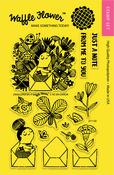 """Enveloper Me - Waffle Flower Crafts Clear Stamps 4""""X6"""""""