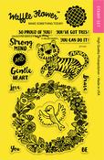"Enveloper Gentle - Waffle Flower Crafts Clear Stamps 4""X6"""