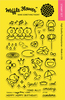 """Toadally - Waffle Flower Crafts Clear Stamps 4""""X6"""""""