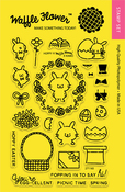 """Hoppy - Waffle Flower Crafts Clear Stamps 4""""X6"""""""