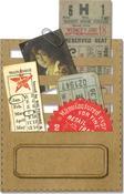 Stitched Slots Thinlits Dies By Tim Holtz - Sizzix