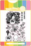 Enveloper Me - Waffle Flower Stamp & Die Set