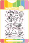 Tea Party - Waffle Flower Stamp & Die Set
