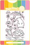 Summer Time - Waffle Flower Stamp & Die Set