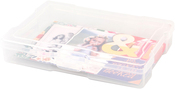 "4""X6"" Case - We R Craft & Photo Translucent Plastic Storage"