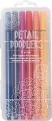 Here & There Detail Doodlers Felt Tip Markers 12/Pkg