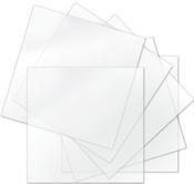 "Sizzix Thermoplastic Sheets 6""X6"" 6/Pkg"
