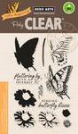 "Color Layering Swallowtail - Hero Arts Clear Stamps 4""X6"""