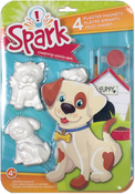 Playful Pups - Spark Plaster Magnet Kit