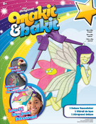 Flower Fairy - Makit & Bakit Deluxe Suncatcher Kit