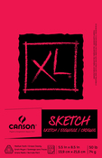 "100 Sheets - Canson XL Sketch Foldover Pad 5.5""X8.5"""