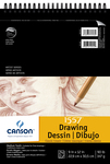 """Classic Cream - Canson Artist Series Drawing Pad 9""""X12"""""""