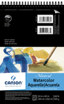 """Canson Montval Spiral Watercolor Pad 5.5""""X8.5"""""""