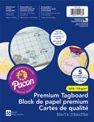 "Parchment Assorted Colors - Pacon Premium Tagboard Paper 8.5""X11"" 50 Sheets/Pkg"