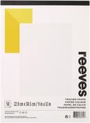 "50 Sheets - Reeves Tracing Paper Pad 9""X12"""