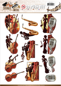 Jazz - Find It Amy Design Sounds Of Music Punchout Sheet