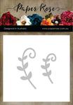 Leaf Scrolls - Paper Rose Dies