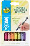 16/Pkg - Crayola My First Washable Tripod Grip Crayons