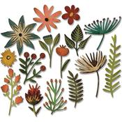 Funky Floral #3 Thinlits Dies - Tim Holtz