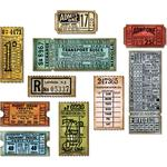 Ticket Booth Thinlits Dies - Tim Holtz