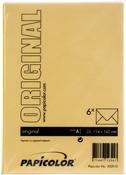 Buttercup Yellow - Papicolor A6 Envelopes 6/Pkg