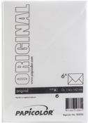 Pearly White - Papicolor A6 Envelopes 6/Pkg