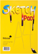 "20 Sheets - Silvine A4 Sketch Pad 8.27""X11.69"""