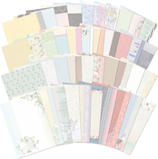 40 Designs/1 Each - Hunkydory Moments & Milestones A4 Card Inserts 40/Pkg
