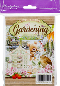 Gardening, 24 Designs/6 Each - Hunkydory The Little Book Of A6 Paper Pad 144/Pkg