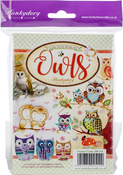 Owls, 24 Designs/6 Each - Hunkydory The Little Book Of A6 Paper Pad 144/Pkg