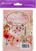 Rose Gold Moments, 24 Designs/6 Each - Hunkydory The Little Book Of A6 Paper Pad 144/Pkg