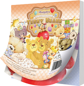 "Teddy Bears, 25 Designs/6 Each - Hunkydory The Square Little Book Of 5""X5"" Paper Pad 150/Pkg"