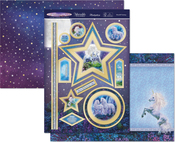Moonlit Fantasy - Hunkydory Unicorn Utopia A4 Topper Set