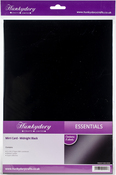 Midnight Black - Hunkydory Mirri Super-Reflective A4 Cardstock 8/Pkg