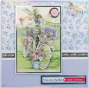 Holographic - Hunkydory Mirri Super-Reflective A4 Cardstock 8/Pkg