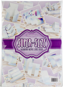 Rainbow Holographic - Hunkydory Super-Size Mirri Card Block A3 25/Pkg