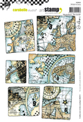 The World By Alexi - Carabelle Studio Cling Stamp A5 By Alexis Toupet