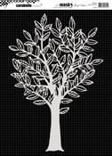 Tree - Carabelle Studio Mask A4 By Birgit Koopsen